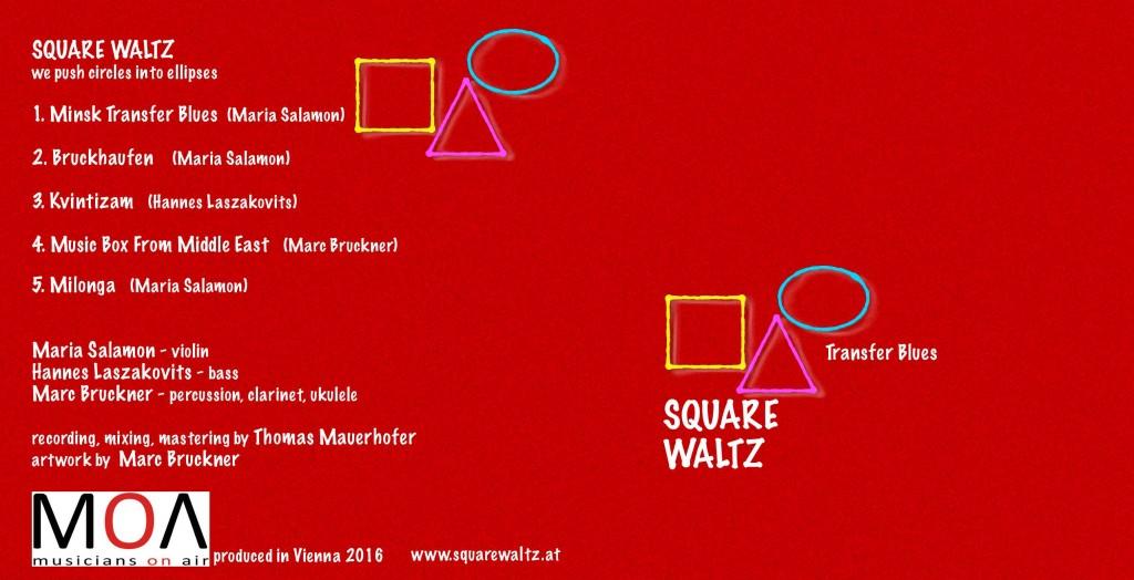 CD Kartontasche Square Waltz 2016